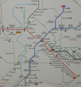 Roma Termini - Metropolitana